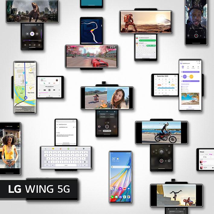 1612338297 Wing Key Visual 6 7  Multi  SNS - LG WING geliyor