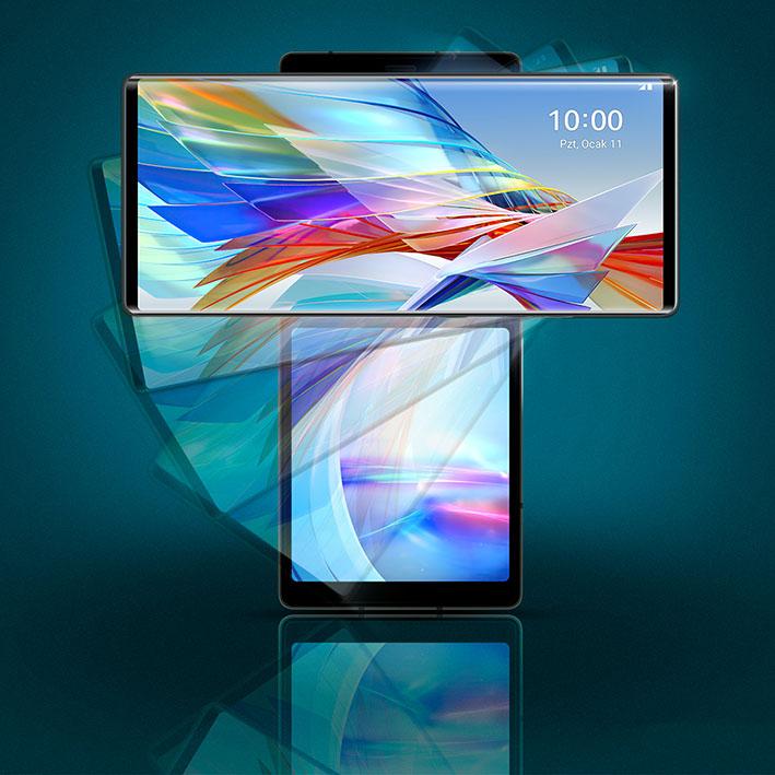 1612338300 Wing Key Visual 7 7  Swivel  SNS - LG WING geliyor