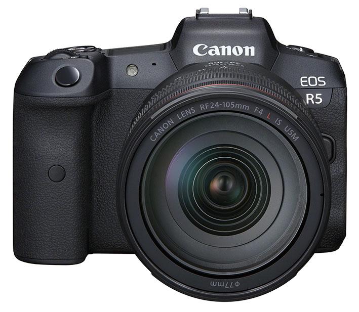 eos r5 front rf24 105mmf4lisusm 2b7983df7f6a4b6fa732ab1eec38fffb - İnceleme: Canon EOS R5