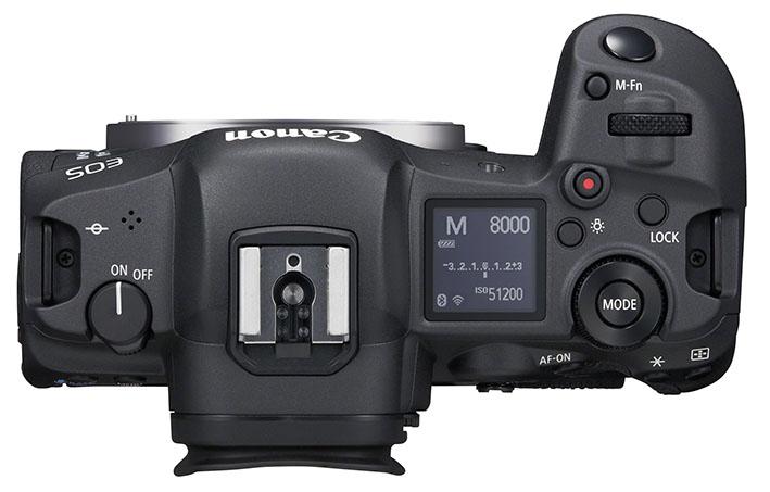 eos r5 top body 9fad8ecd1a3f455385032acf3f782bbb - İnceleme: Canon EOS R5