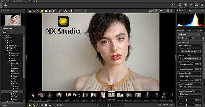nx studio screenshot - Nikon NX Studio'yu duyurdu