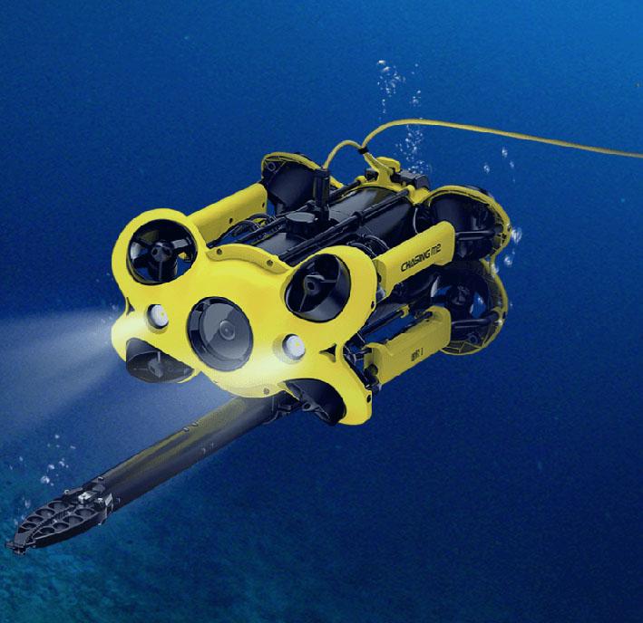 Chasing-M2-underwater-drone