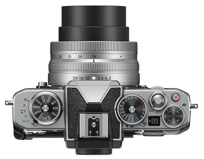 Zfc 16 50DX 3.5 6.3 top.high  - Nikon efsane tasarımını Z fc ile buluşturdu!