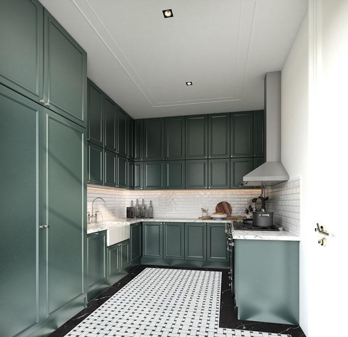gorsel 2k - Şahane Renklere Sahip Mutfak Dolabı Boyaları Nelerdir?