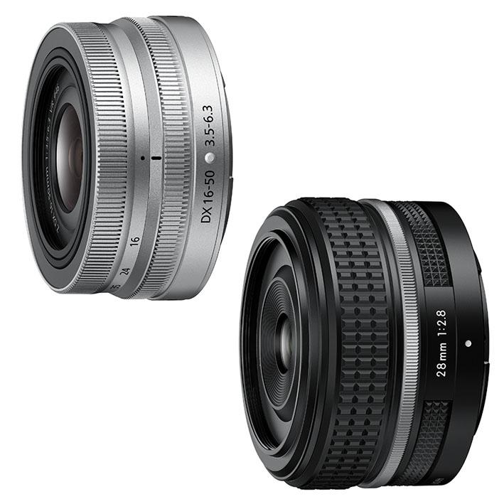 zfc lens - NIKKOR Z DX 16-50mm f/3.5-6.3 VR ve Z 28mm f/2.8 SE