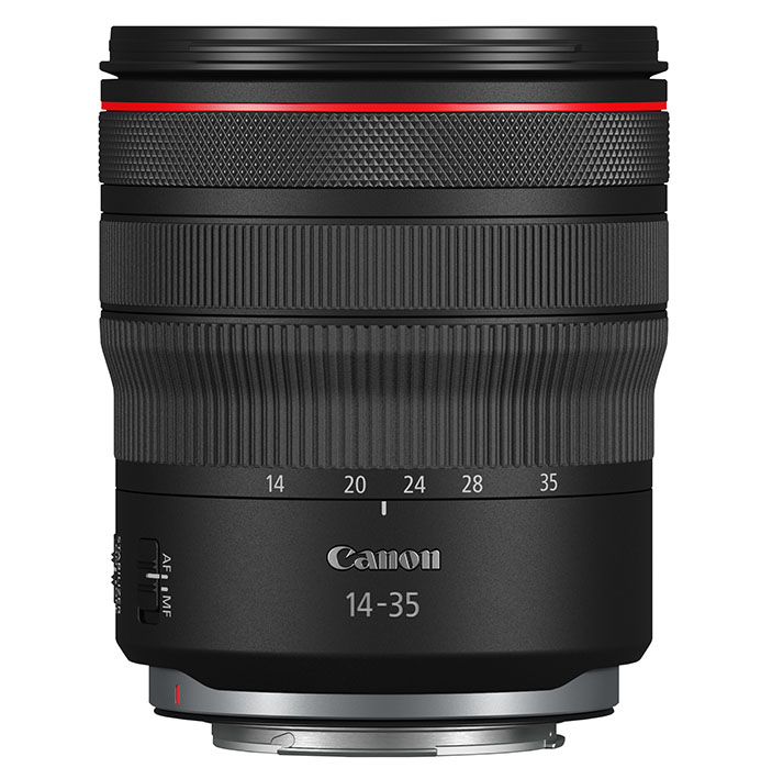 RF 14 35mm F4L IS USM side product gallery 01 - Canon RF 14-35mm F4L IS USM