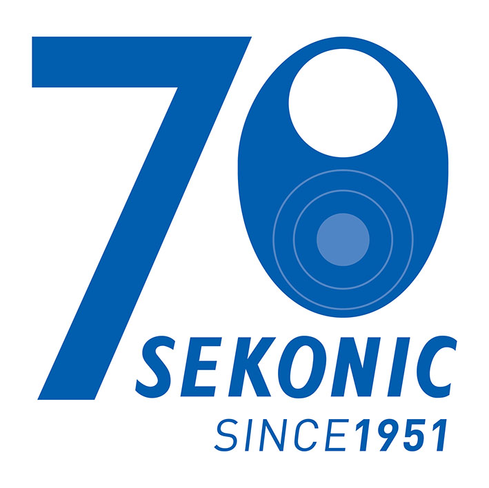 Sekonic70th logo 4C RGB - Sekonic 70. Yıldönümünü Kutluyor!