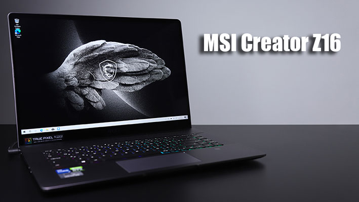 001 - Rakiplerini Kıskandıran MSI Creator Z16