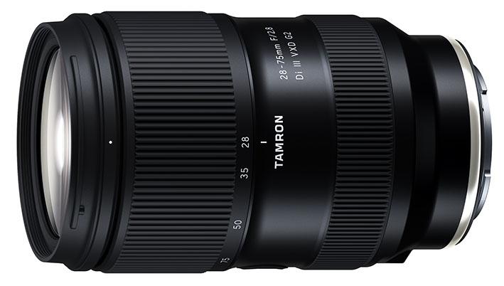 28 75mm F2.8 Di III VXD G2 – A063 sony - Tamron'dan Sony uyumlu 2 yeni zoom objektif
