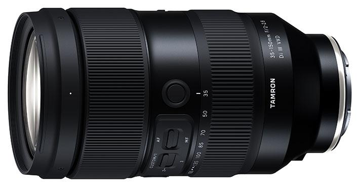 35 150mm F2 2.8 Di III VXD – A058 sony - Tamron'dan Sony uyumlu 2 yeni zoom objektif
