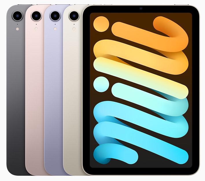 Apple iPad mini colors 09142021 - Apple, yeni iPadmini'yi duyurdu