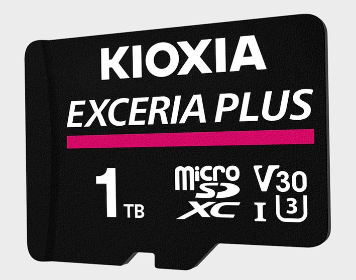 KIE RM012 microSD EXCERIA PLUS 1TB LR - 1TB'lık Kioxia Exceria Plus microSD