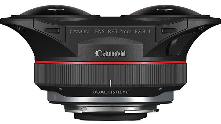 rf 5.2mm f2 1 - Canon RF 5.2mm F2.8L Dual Fisheye